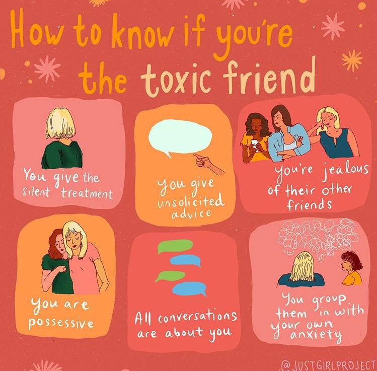 Symptoms toxic friendship 5 Signs